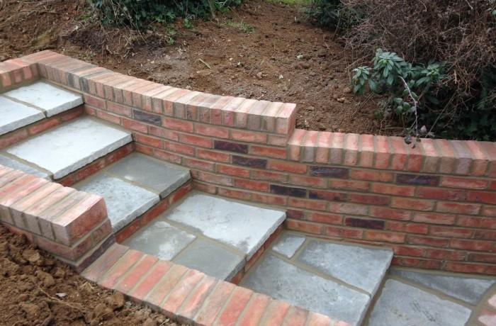 Garden Brickwork Braishfield